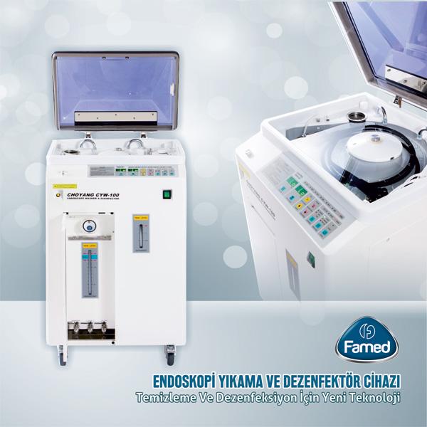 Endoskopi Yıkama ve Dezenfeksiyon Cihazları